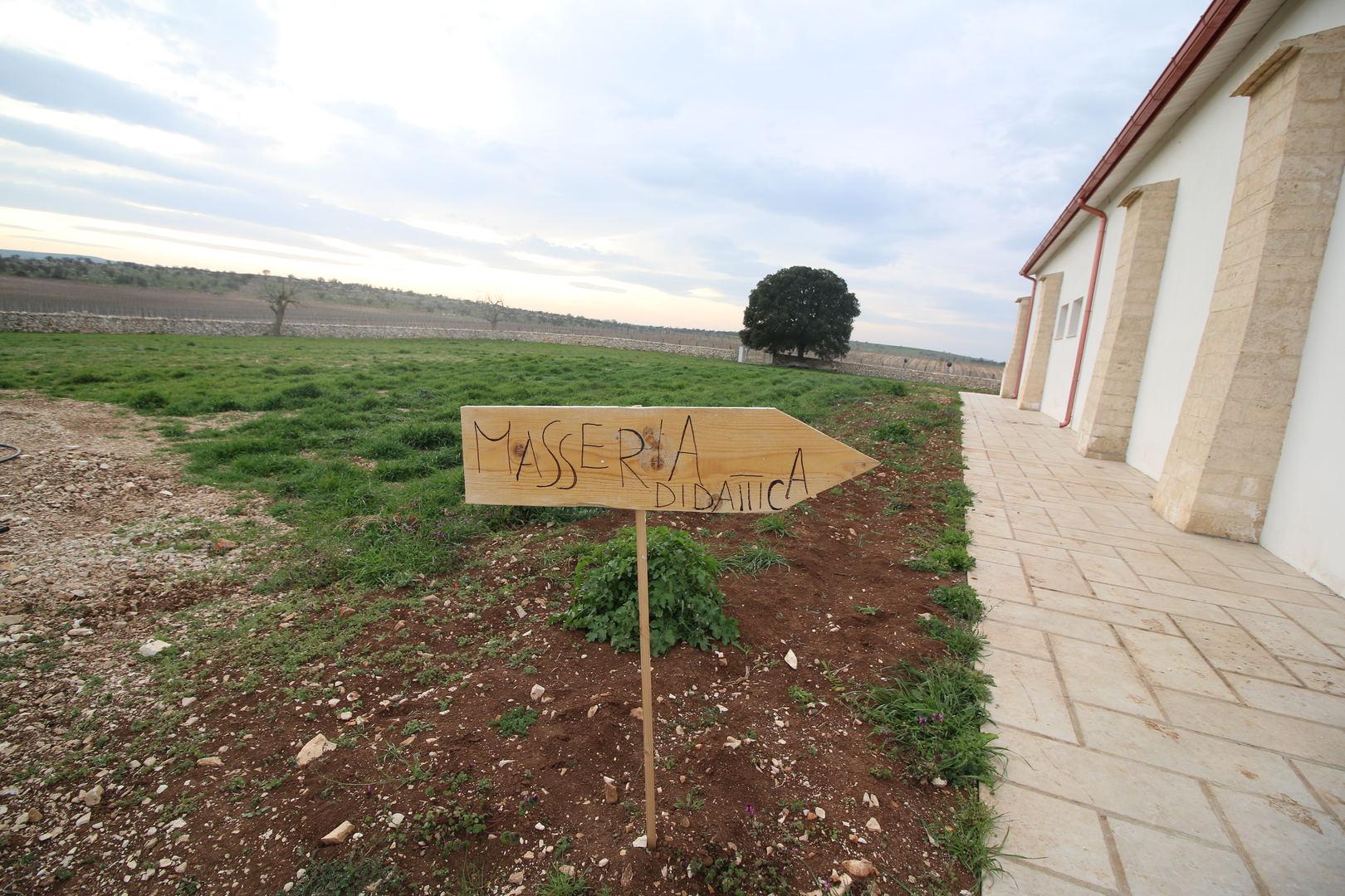 Masseria didattica in Puglia